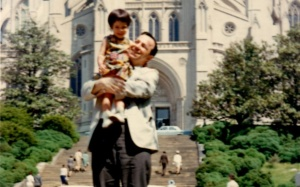 Jennifer and Dad 1966 cropped